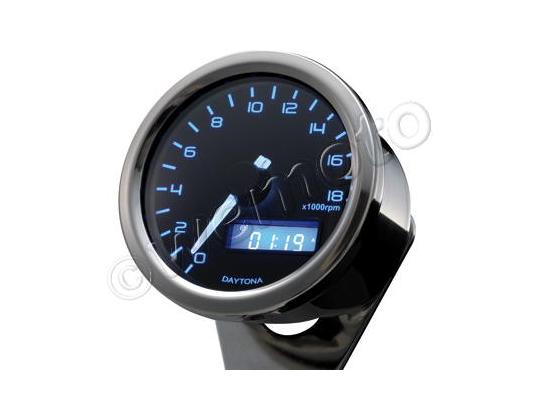 Picture of DAYTONA Digital Tachometer VELONA Round 60mm