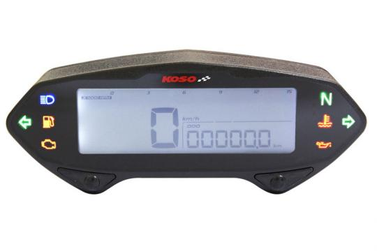 Picture of KOSO DB-01RN Speedometer with Tachometer