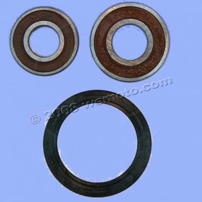 Picture of Kawasaki KLR 250 (KL 250 D2-D7) 84-90 Front Wheel Bearing Kit with Dust Seals