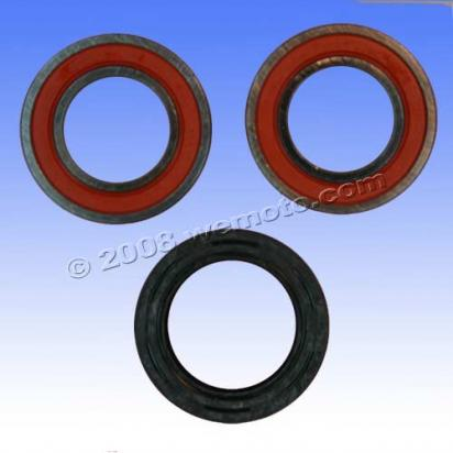 Picture of Yamaha WR 250 FP 02 Front Wheel Bearing Kit with Dust Seals