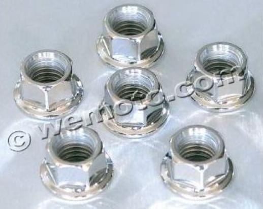 Picture of Rear Sprocket Retainer Stainless Steel Nut Set