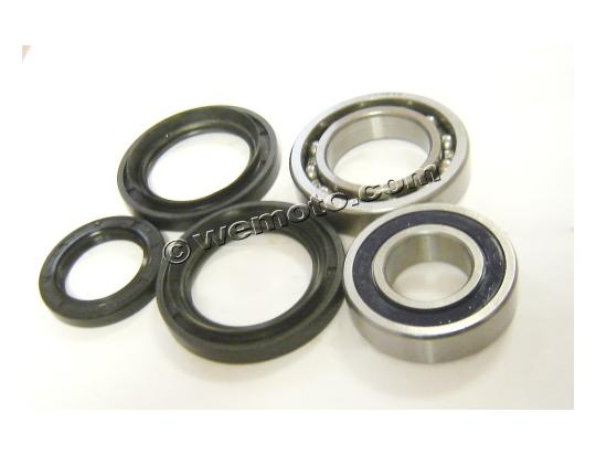 Rear Wheel Bearing Kit with Dust Seals (By All Balls USA)