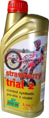 Picture of 2 Stroke Oil - Rock Oil Strawberry Trial 2T 1L