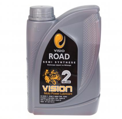 Picture of 2 Stroke Oil VISION Road Semi Synthetic 1 Litre