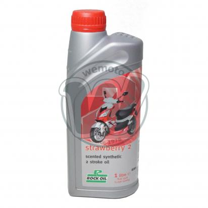 Picture of 2 Stroke Oil Rock Oil Strawberry 1 Litre