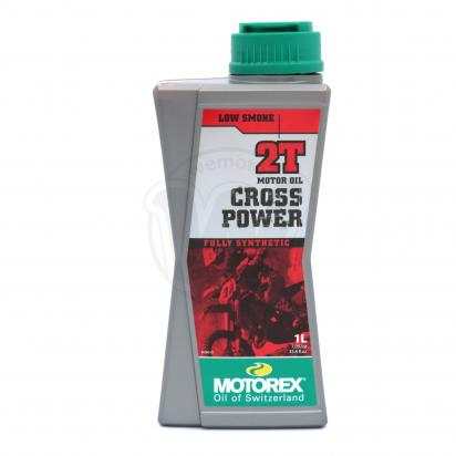 Picture of Motorex Cross Power 2T Fully Synthetic Off-Road - 1 Litre