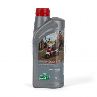Picture of 2 Stroke Oil Rock Oil Strawberry 1 Litre