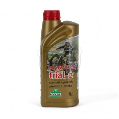 Picture of 2 Stroke Oil - Rock Oil Strawberry Trial 2T 1L