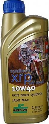 Picture of 4 Stroke Oil - Rock Oil Synthesis XRP Off Road 10w40 1 Litre