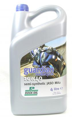 Picture of 4 Stroke Oil - Rock Oil Guardian 10W40 Semi-Synthetic 4 Litre