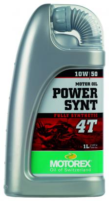 Picture of Motorex Power Synt 4T Fully Synthetic 10w/50 - 1 Litre