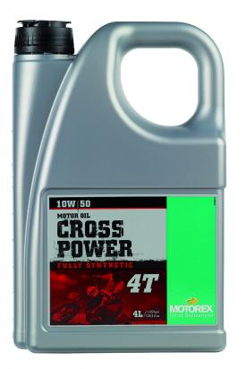 Picture of Motorex - Synthetic Cross Power 4T 10W/50- 4 Litres