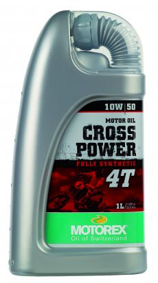 Picture of Motorex Cross Power 4T Fully Synthetic 10w/50 - 1 Litre
