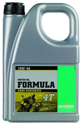 Picture of Motorex Formula 4T Semi-Synthetic 10w/40 - 4 Litre