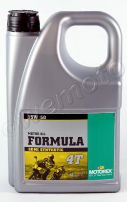 Picture of Motorex Formula 4T Semi-Synthetic 15w/50 - 4 Litre
