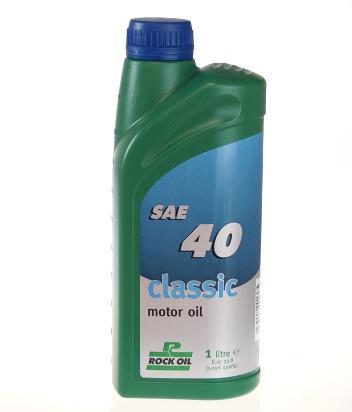 Picture of 4 Stroke Oil - Rock Oil Classic SAE 40 1 Litre