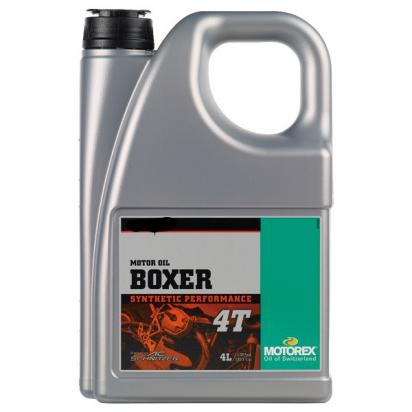 Picture of Motorex Top Boxer 4T Synthetic 5w/40 - 4 Litre