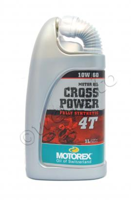 Picture of Motorex Cross Power 4T Fully Synthetic 10w/60 - 1 Litre