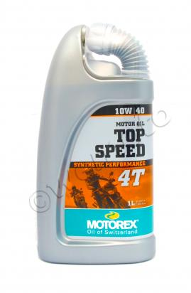 Picture of Motorex Top Speed 4T Synthetic 10w40 - 1 Litre