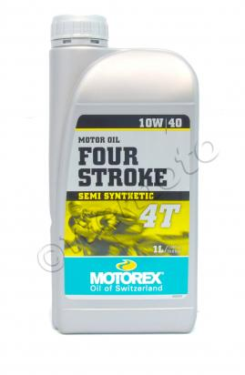 Picture of Motorex Four Stroke 4T Semi Synthetic 10/40 - 1 litre
