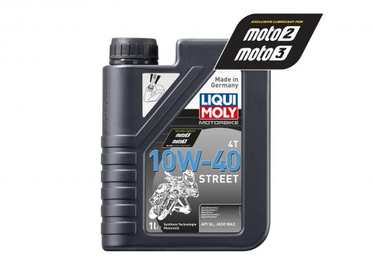 Picture of Liqui Moly 4T Street 10W40 Semi-Synthetic 1 Litre