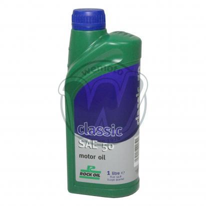 Picture of 4 Stroke Oil - Rock Oil Classic SAE 50 1 Litre