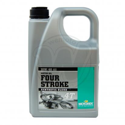 Picture of Motorex Four Stroke 4T Semi Synthetic 10w40 - 4 litre
