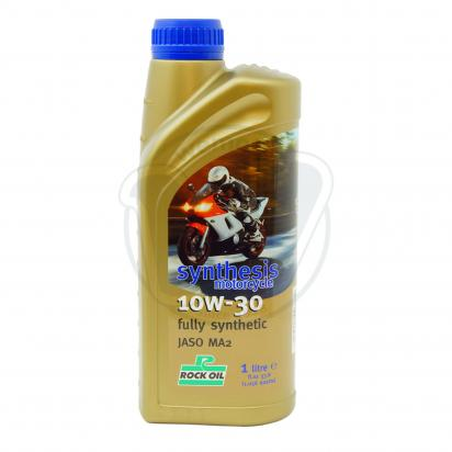 Picture of Rock Oil Synthesis 4 fully synthetic 10w30 - 4 stroke Oil 1 Litre