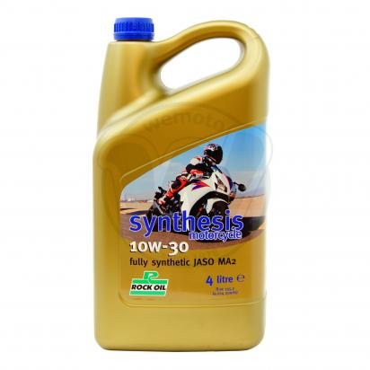 Picture of Rock Oil Synthesis 4 fully synthetic 10w30- 4 stroke Oil 4 Litre