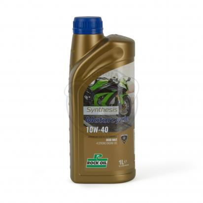 Picture of 4 Stroke Oil - Rock Oil Synthesis 4 fully synthetic 10w40 Oil 1 Litre