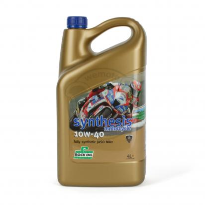 Picture of 4 Stroke Oil - Rock Oil Synthesis 4 Fully Synthetic 10w40 4Litre