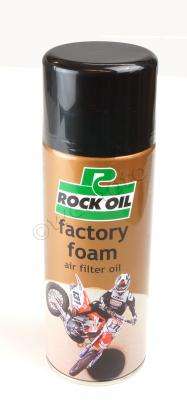 Factory Foam Air Filter Oil - Rock Oil - 400ml Aerosol