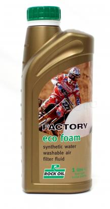 Factory Eco Foam Air Filter Fluid Synthetic Water Washable - Rock Oil -  1 LTR