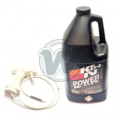 K&N Power Kleen Air Filter Cleaner - 3.79L