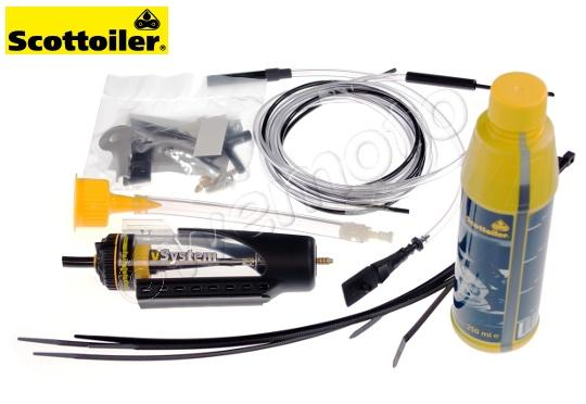 Picture of Suzuki RMX 50 97-99 Automatic Chain Lubrication System - Scottoiler Universal V system