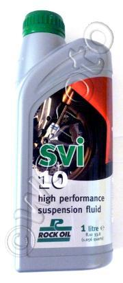 Picture of Fork Oil SVI 10W Rock Oil 1 Litre Synthetic