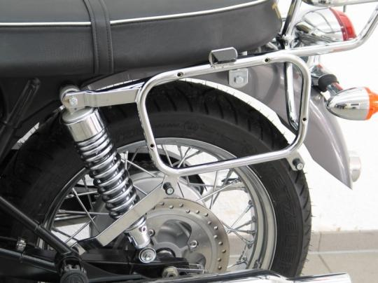 Picture of Specific Triumph Bonneville/SE/T100 Tubular Side Case Holders - For Givi/Kappa Cases