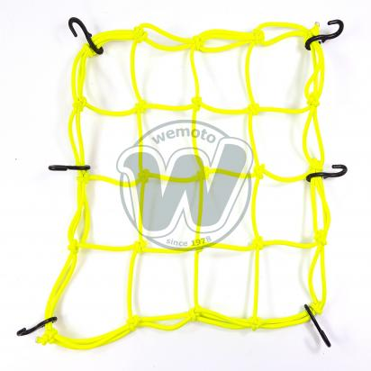 Picture of Cargo Net Motorcycle High-Vis 300x300mm 6 Hooks