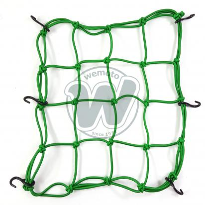 Picture of Cargo Net Motorcycle Green 300x300mm 6 Hooks