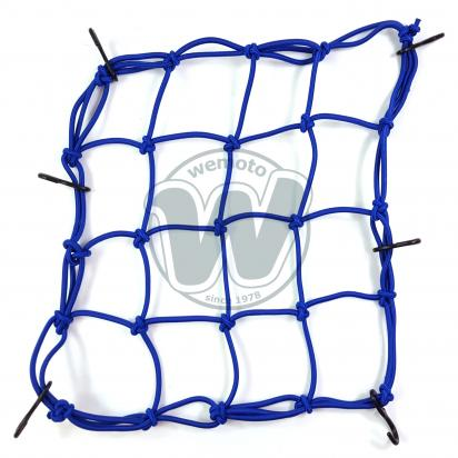 Picture of Cargo Net Motorcycle Dark Blue 300x300mm 6 Hooks