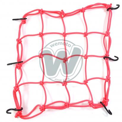 Picture of Cargo Net Motorcycle Pink 300x300mm 6 Hooks