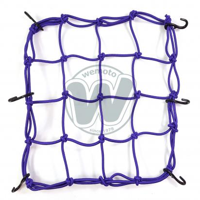 Picture of Cargo Net Motorcycle Purple 300x300mm 6 Hooks