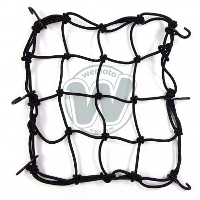 Picture of Cargo Net Motorcycle Black 300x300mm 6 Hooks