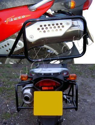 Picture of Metal Mule Pannier Frames KTM 990 SM-T
