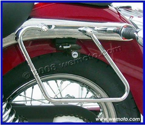 Picture of Saddle Bag Rails - Spacers Honda VT 125