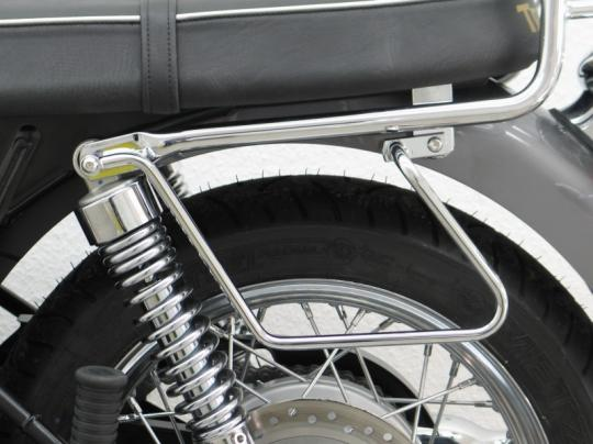 Picture of Saddle Bag Rails Triumph Bonneville/T100/SE