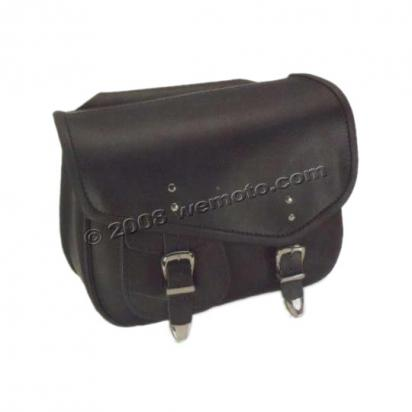 Picture of Saddle Bags - Pair Black Leather - Boston (36x28x14cm)