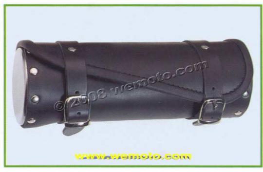 Picture of Tool Roll Leather Custom - Chrome Cover - Diagonal cut -Length 30cms by 12cms