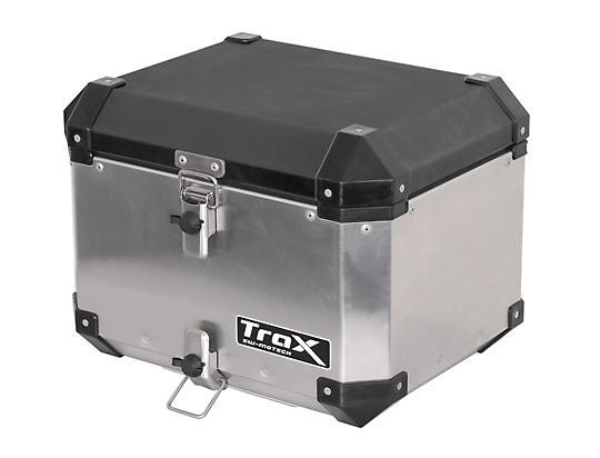 Picture of TraX Top Box Aluminium  38L, Silver