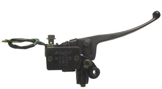 Picture of Front Brake Master Cylinder - 50mm by 30mm - Single Disc comes with Lever